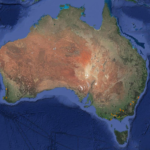 Australia Cycling Routes Map