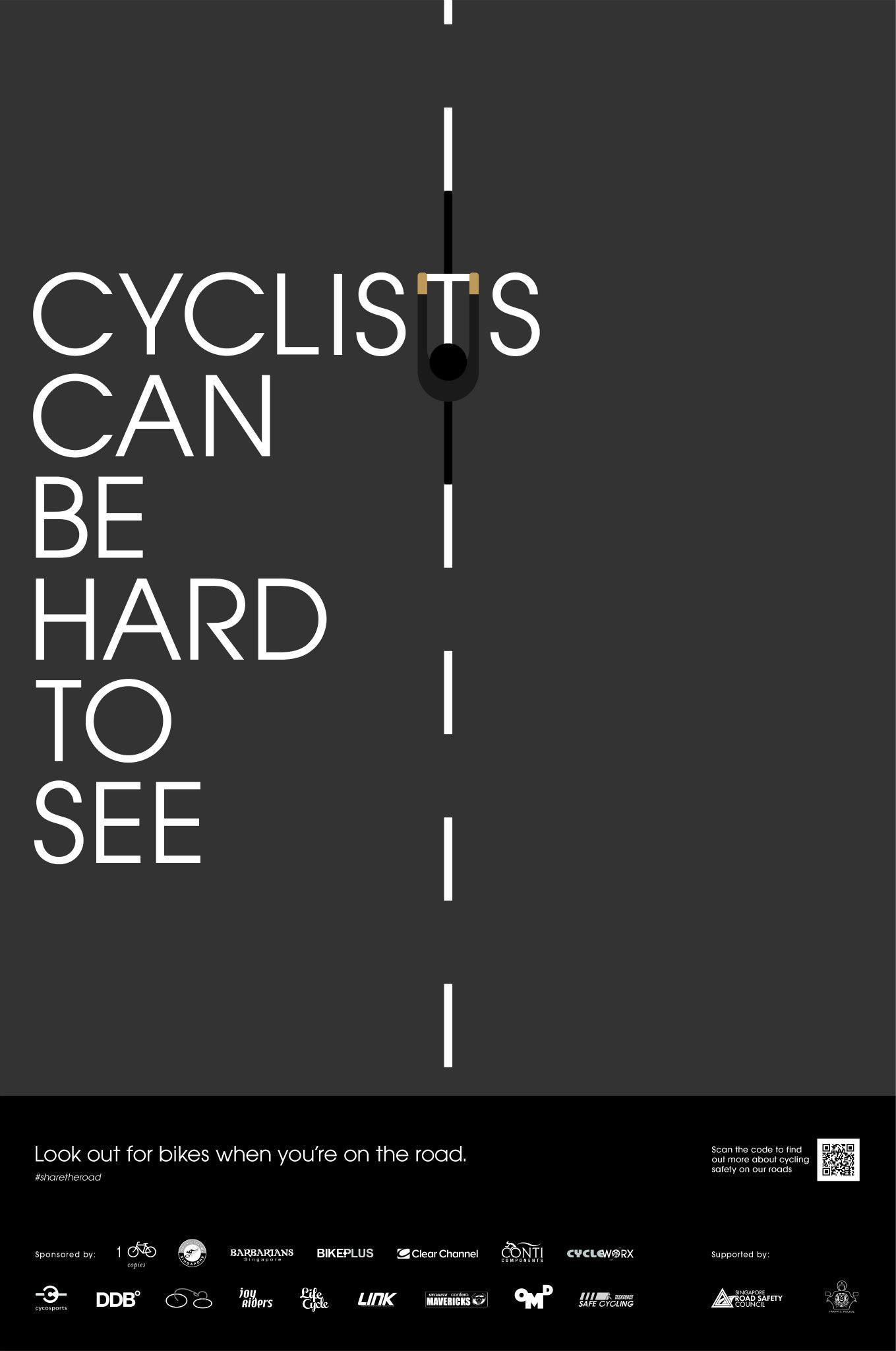 Cyclist Are Hard To See
