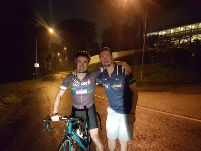 Everesting Singapore - At the end - Iron Mike Musing