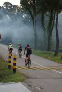 Everesting Singapore - Fogging - Iron Mike Musing