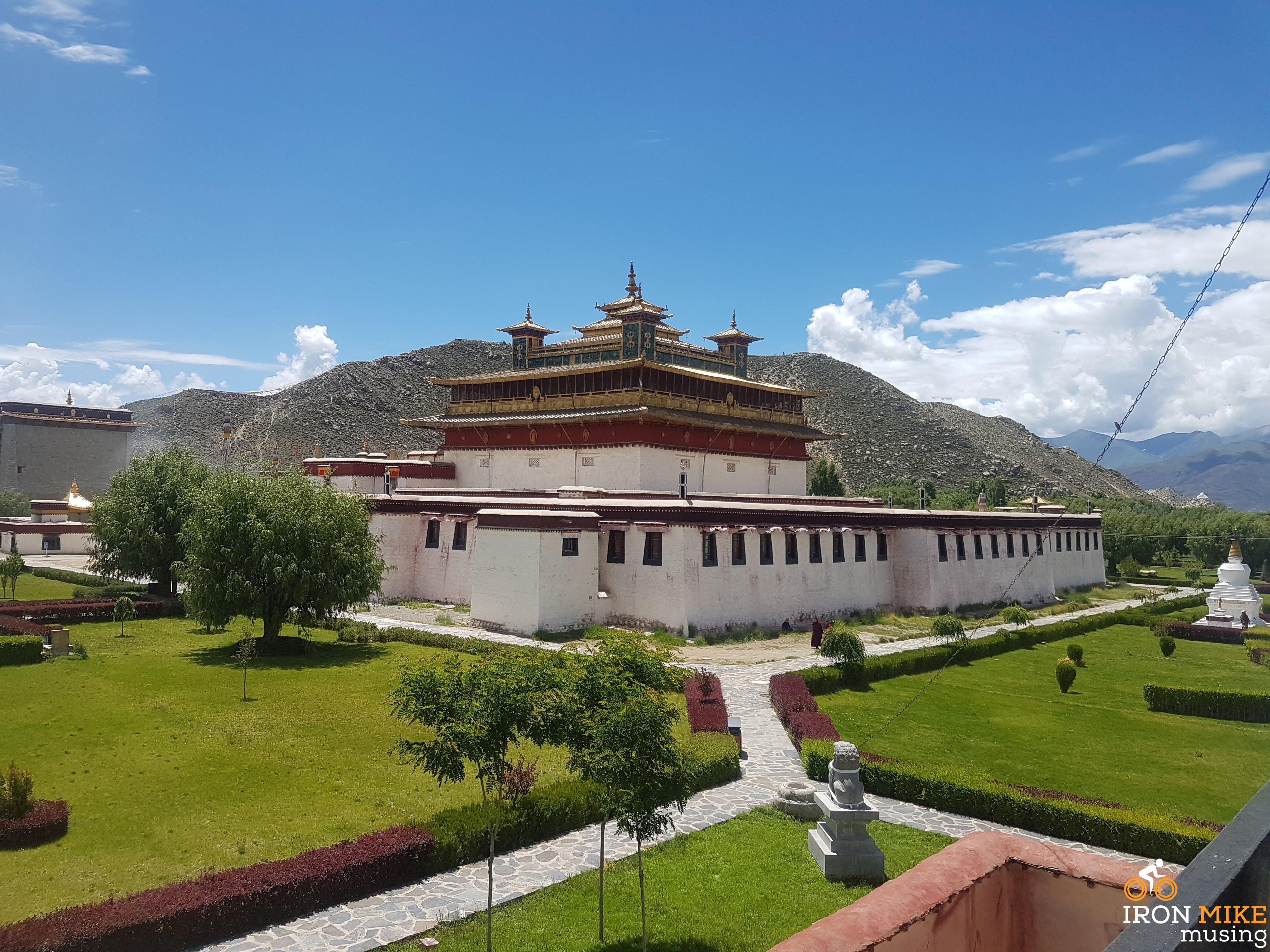 Semye Monastery Gardens - Tibet - Iron Mike Musing