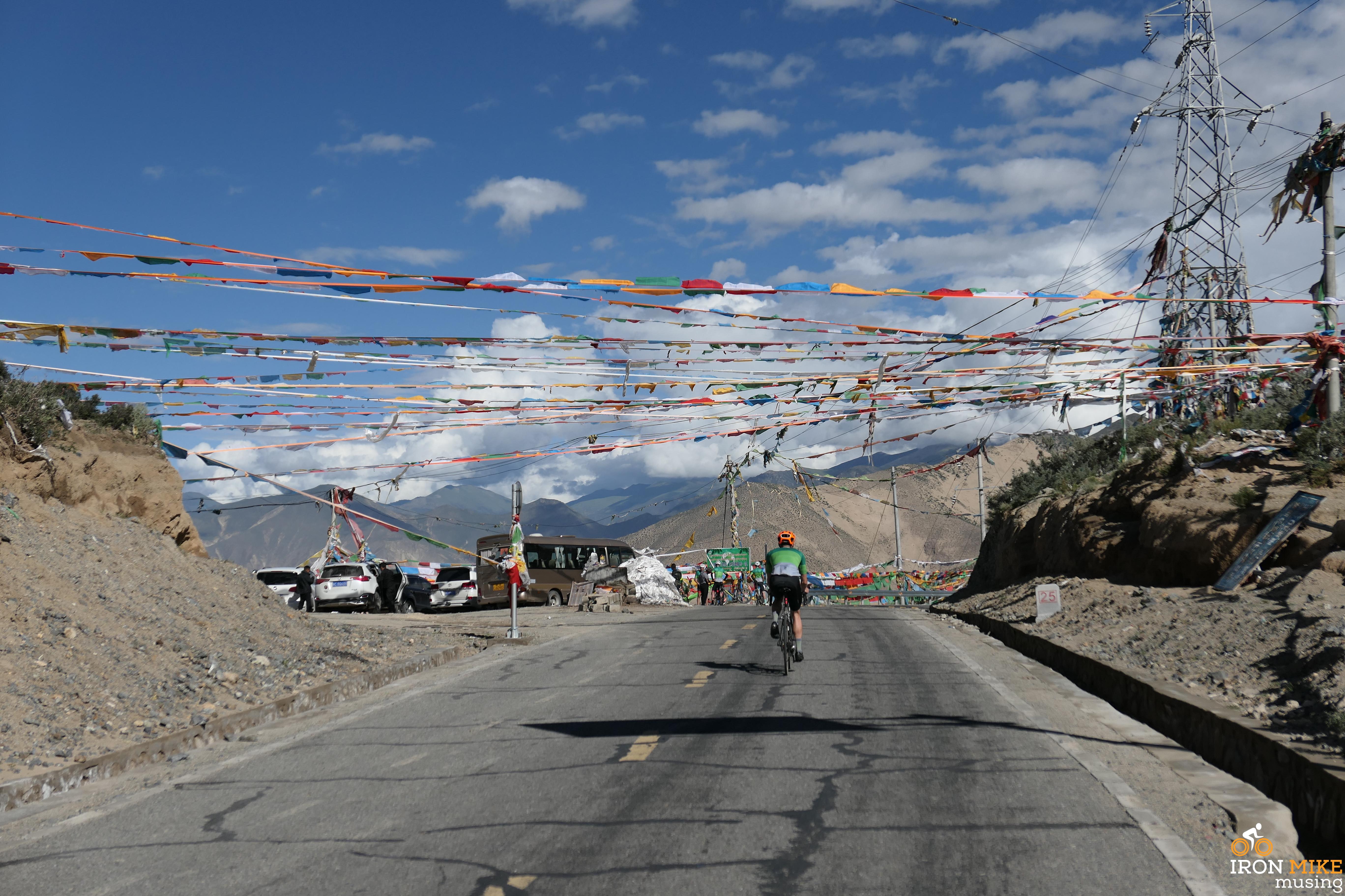 En Route Semye Monastery - Tibet - Iron Mike Musing
