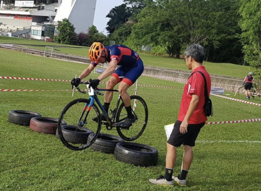 Cyclocross bunny hop - Iron Mike Musing