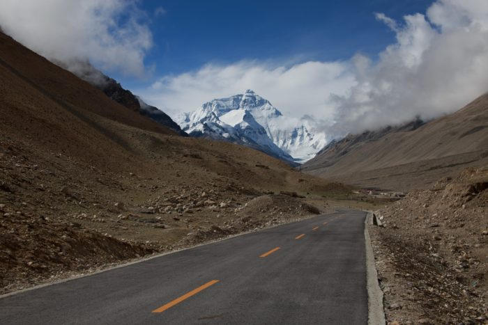 A Cycling Journey to Everest in Pictures